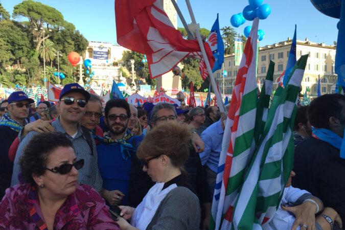 Roma manifestazione 8 novembre 2014